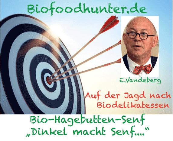 Bio-Hagebutten-Senf
